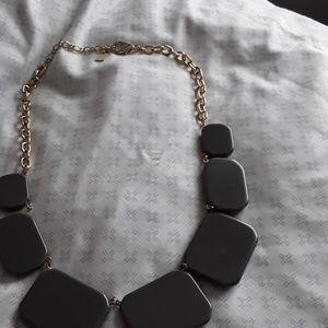 Jewelry - Gray statement necklace